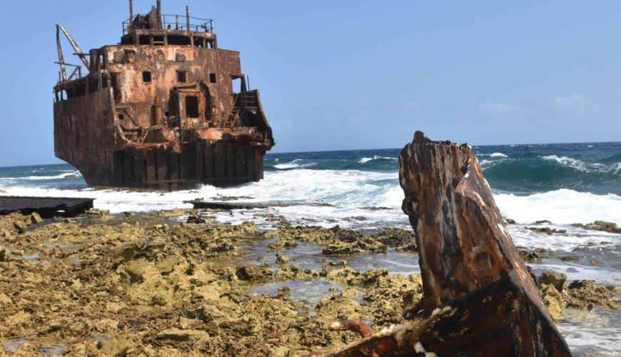 Klein Curacao shipwreck